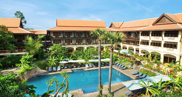 【暹粒酒店】20年代法国风-Victoria Angkor Resort & Spa