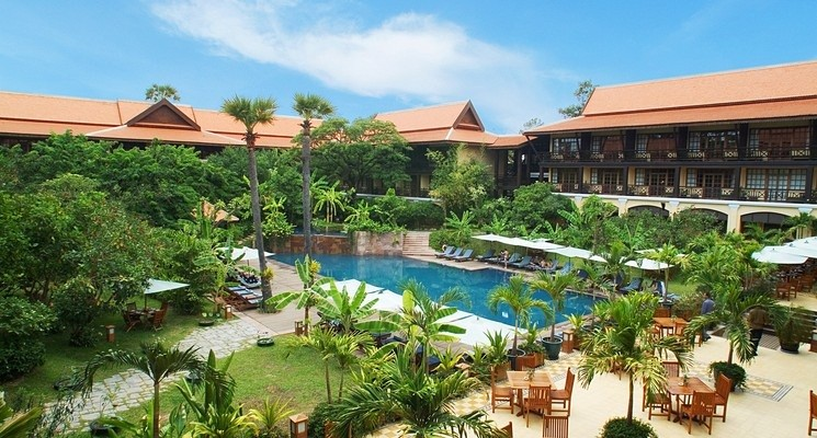 【暹粒酒店】20年代法国风Victoria Angkor Resort & Spa